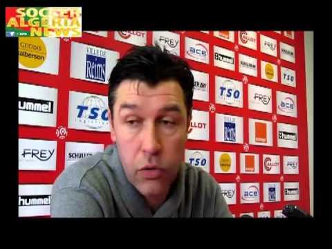 Hubert Fournier au sujet des 4 joueurs qu'il a écarté de son équipe.