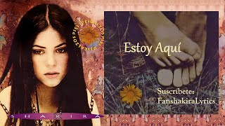 01 Shakira - Estoy Aquí [Lyrics]