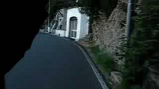 Riding the Amalfi coast