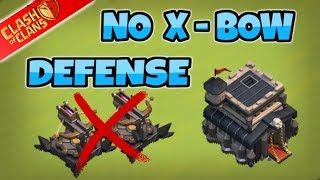 NO-XBOW Best TH9 Farming Base (Without X Bows) 2017 | Th8.5/8.75 Hybrid/Farming | Clash Of Clans