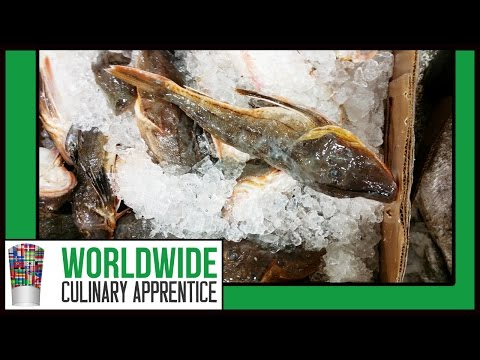 How To Skin Monkfish - Fillet Monkfish - Butcher A Monkfish - Cooking Classes