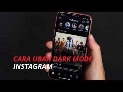 Tips Cara Ubah Mode Hitam Di Instagram Dengan Aplikasi Dark Mode Android Youtube
