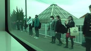 JR五能線 五所川原→川部【GV-E400系・821D】 2021.04.13