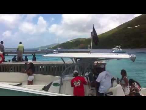 VI Tour Guide Scrub Island Resort BVI Poker Run ep. 1