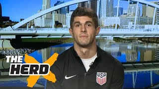 Christian Pulisic talks USMNT-Mexico matchup | THE HERD (FULL INTERVIEW)