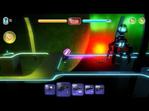 Alien Hallway - Walkthrough - Planet 3 - Mission 3 (Too crowded)  