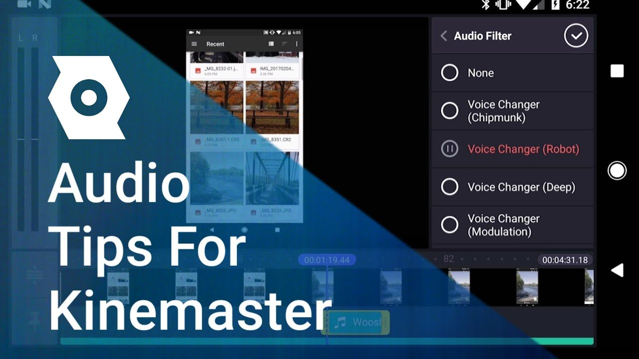 Image result for Audio Features in kinemaster