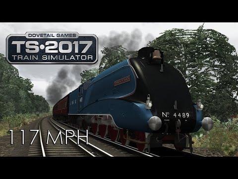 TS2017: LNER Class A4 Pacifics Dominion of Canada - London Victoria to Brighton Speedtest 117.59 MPH