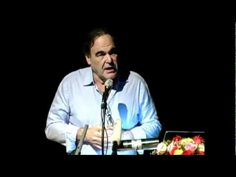 Oliver Stone at NIST facilitated by the International Peace Foundation, Part 1