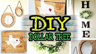 DIY Farmhouse Home Decor / DIY Dollar Tree