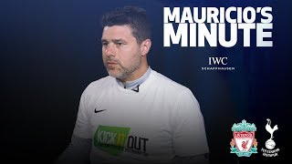 MAURICIO PREVIEWS LIVERPOOL AND GIVES THOUGHTS ON NEW STADIUM | MAURICIO'S MINUTE