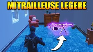 ON TEST LA NOUVELLE MITRAILLEUSE LEGERE sur FORTNITE BATTLE ROYALE !