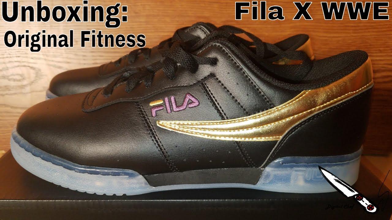 Unboxing Fila X WWE Original Fitness