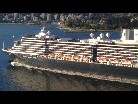 Cruise ships in Vancouver BC, 2013