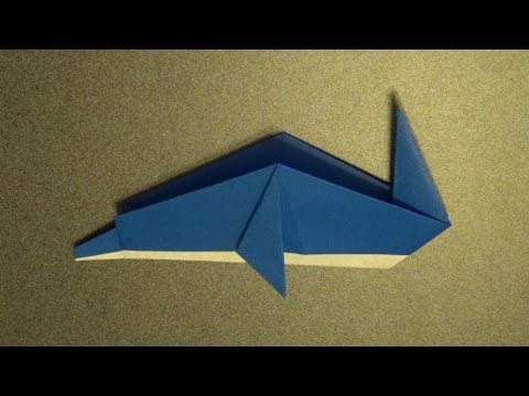 "脱??達??巽卒?達??達?造達?束達?束達?? origami""dolphin"" - YouTube"