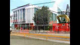Altes Hallenbad Herne Berliner Platz Abriss Abbruch Bilder