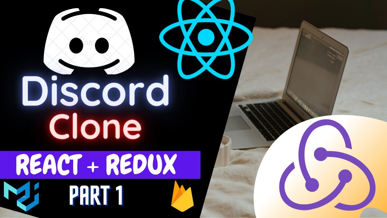 Build Discord Clone using REACT.JS | REDUX | Firebase as Backend | Part 1