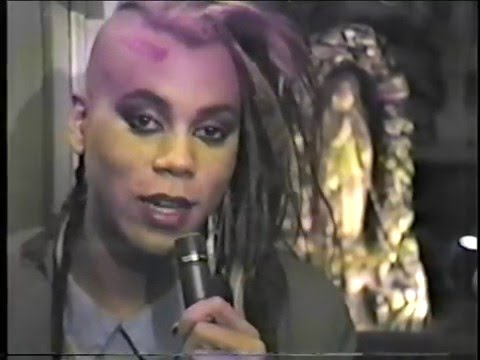 RuPaul's Punk Interview on The American Music Show in 1985