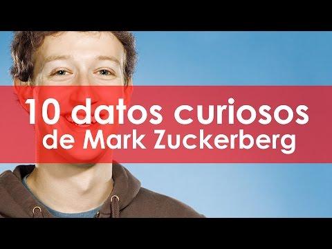 10 datos curiosos de Mark Zuckerberg