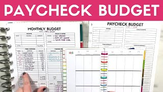 Paycheck Budget   Low Income Week Paycheck Budgeting January 2020