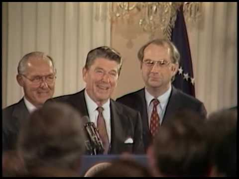 President Reagan's Remarks at opening of Senate Office building on September 30, 1982