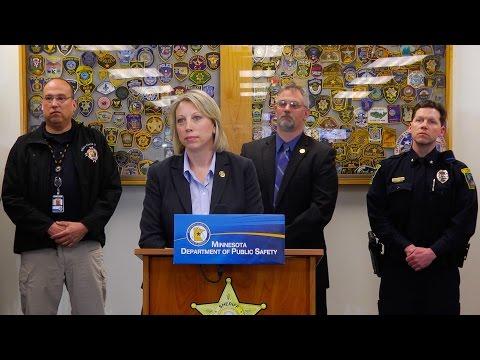 DPS News Conference: Potent Heroin Causing Alarm Across Minnesota