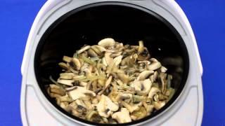 Рецепт приготовления крем-супа из шампиньонов в мультиварке VITEK VT-4215 BW