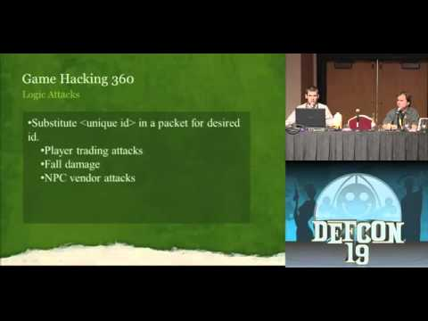 DEFCON 19 (2011) - Hacking MMORPGs for Fun and Mostly Profit