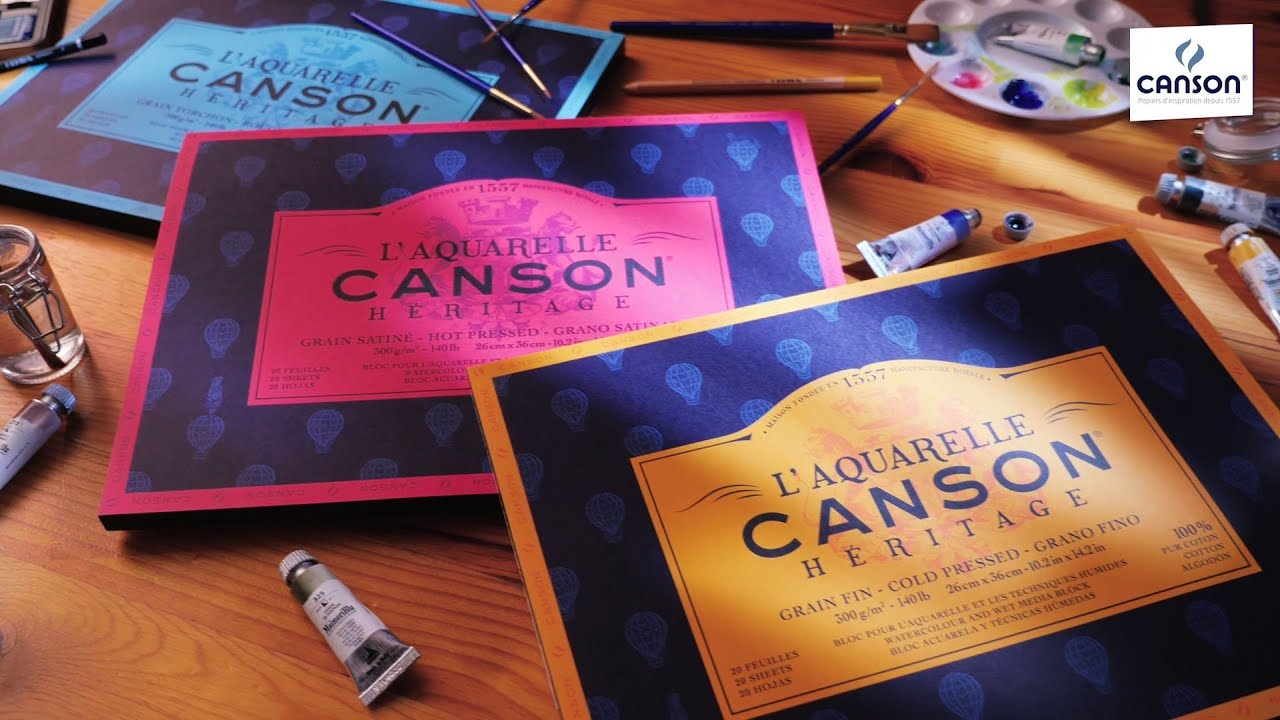 Canson Heritage - YouTube