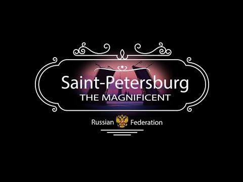 Saint Petersburg The Magnificent (Санкт-Петербург Великолепный). #Timelapse / Hyperlapse