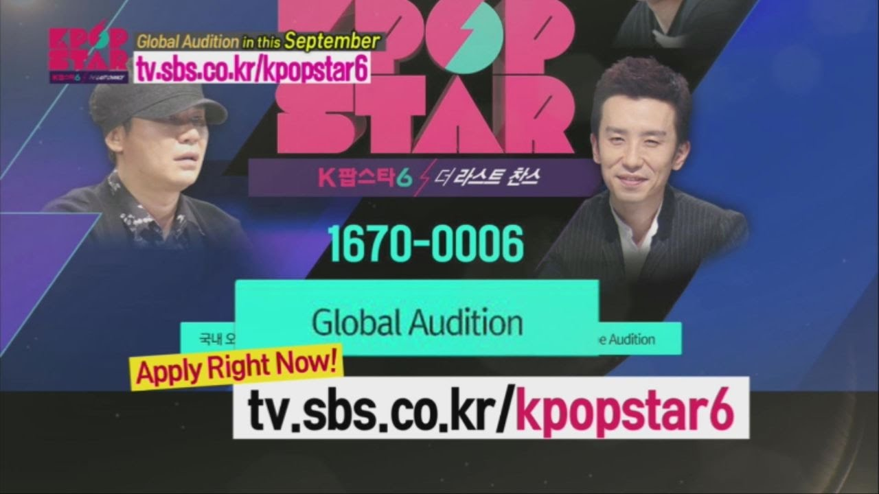 Kpop Auditions