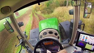 Incredible photos and videos from the tractor cab  Невероятные видеоролики из кабины трактора