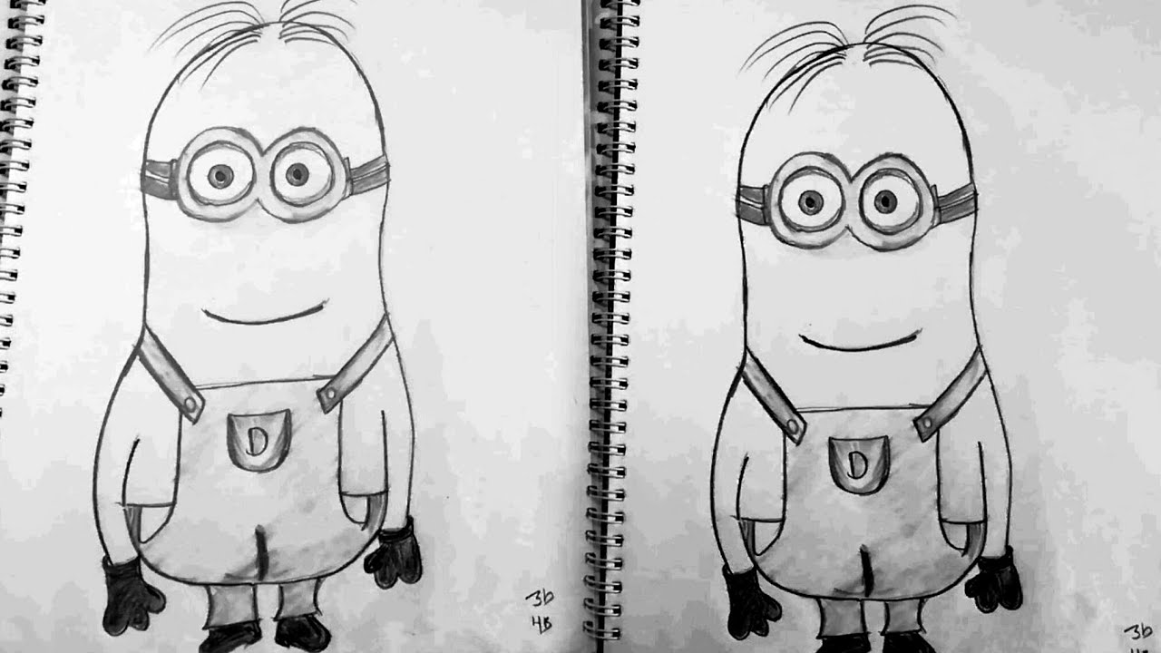 How To Draw Step By Step Drawing Tutorial Minions Realistic Face