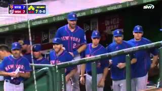 Mets comeback vs Nationals 9/8/15
