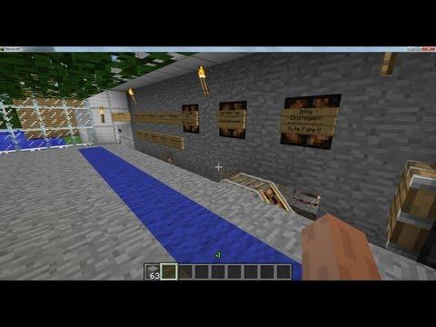 Minecraft automatisches Zugsystem tutorial / Berni the Gamer