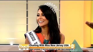 Chatting With Miss New Jersey USA