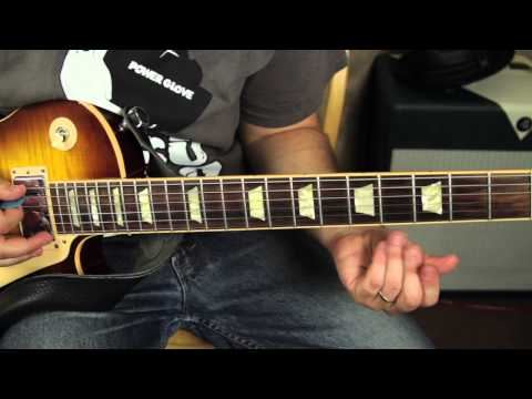 Slash – By the Sword – Guitar Lesson Tutorial – main riff – gibson les paul