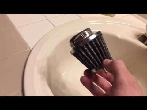 How to clean your taotao air filter