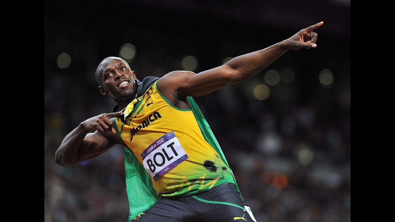 Usain Bolt o homem mais rápido do mundo na terra! - YouTube