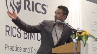 BIM Presentation during RICS Event in Malaysia by Mohd Harris Ismail