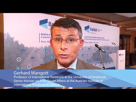 Gerhard Mangott: Valdai Club Is More Pluralistic Than Other Western Conferences