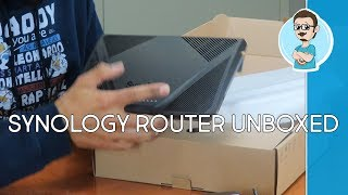 Synology RT2600AC Wireless Gigabit Router Unboxed & First Impressions!