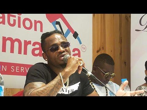 Moroni : Conférence de presse de la star africaine Diamond Platnumz