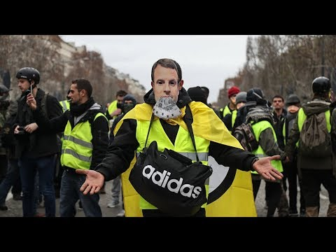 Yellow Vests Movement Protest in France for 14th Week