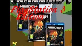 Minecraft News: Playstation 3 Edition On Disc Next Month