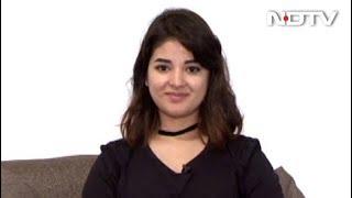 'Dangal' Girl Zaira Wasim ने छोड़ी एक्टिंग, कहा - काम से ख़ुश नहीं हूं