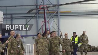 Latvia: NATO 'Black Hawk' helicopters arrive in Riga