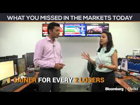 Market Wrap: Sensex, Nifty Halt 4-Day Gains