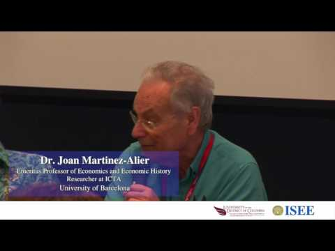 ISEE 2016 Conference UDC Closing Plenary Panel - The Future of Ecological Economics - Full Version