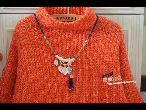 Пуловер Английской Резинкой Спицами - 2019 / Pullover English Erasers